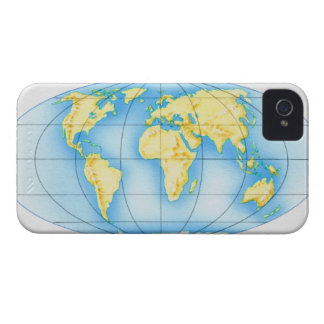 Globe of the World iPhone 4 Cover
