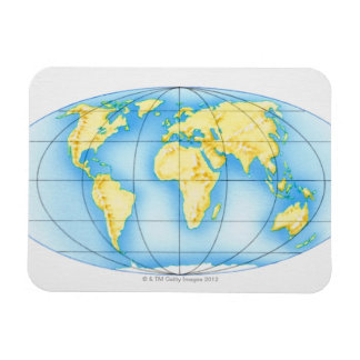 Globe of the World Magnet