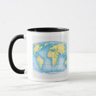 Globe of the World Mug