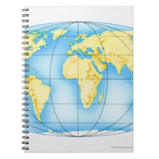 Globe of the World Notebook
