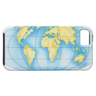 Globe of the World Tough iPhone 5 Case