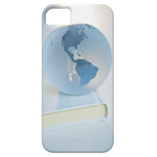 Globe on a book barely there iPhone 5 case