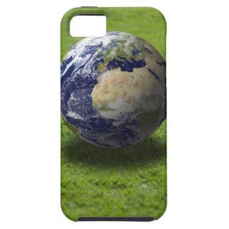 Globe on lawn 2 tough iPhone 5 case