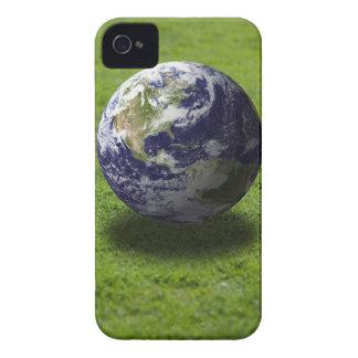 Globe on lawn 3 Case-Mate iPhone 4 case