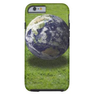 Globe on lawn tough iPhone 6 case
