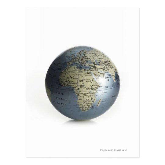 Globe Postcard