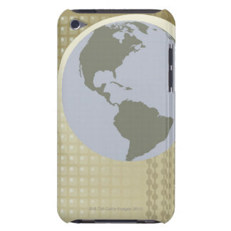 Globe Showing Americas Case-Mate iPod Touch Case