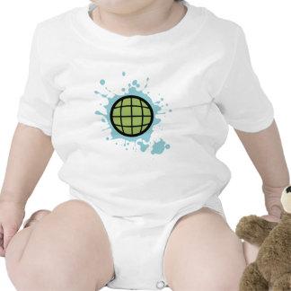 Globe Splotch. Romper