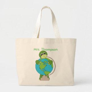 Globe Teacher Tote Bag