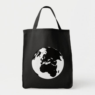 Globe Canvas Bag