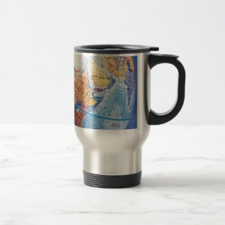 Globe Trotter (15oz.) Stainless Steel Travel Mug