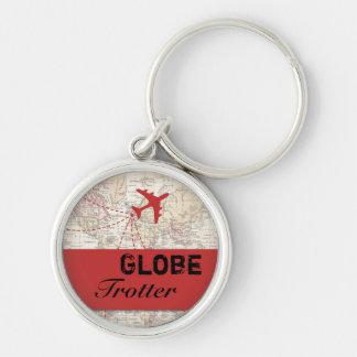 Globe Trotter Keychain