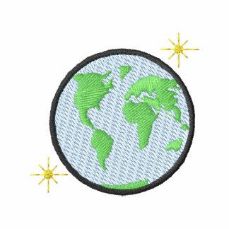 Globe with stars