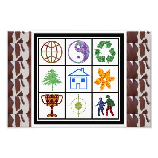 Globe World Blance Recycle Home Couple Award Focus Art Photo