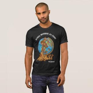 #GLOBEXIT Global Warming T-Shirt (Black)