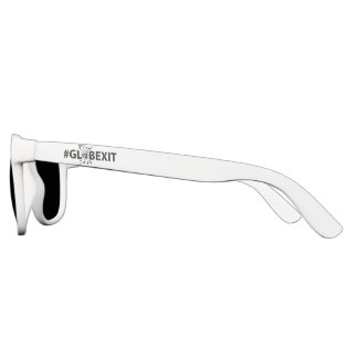 #GLOBEXIT Sun Glasses (white)
