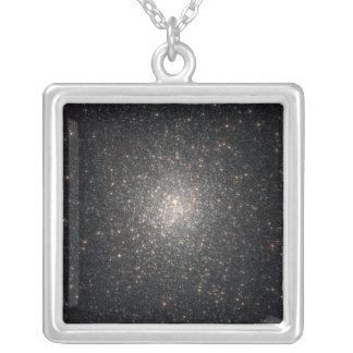 Globular cluster NGC 2808 Silver Plated Necklace
