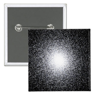 Globular Star Cluster in Space 15 Cm Square Badge