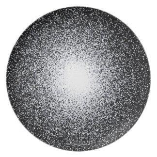 Globular Star Cluster in Space Plate