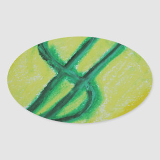 glodencash jpg oval sticker