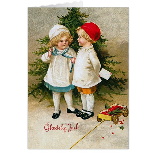 """Gloedelig Jul"" Card"