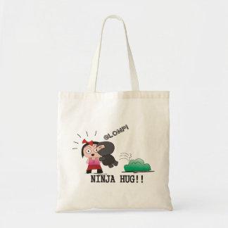 """Glomp"" Totebag - A Nawty Ninja Design Tote Bag"