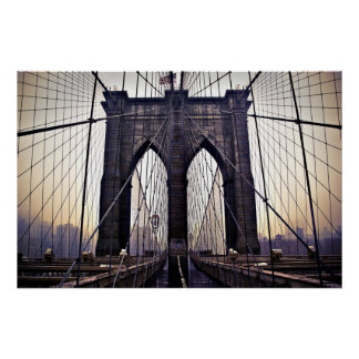 Gloomy Brooklyn Poster