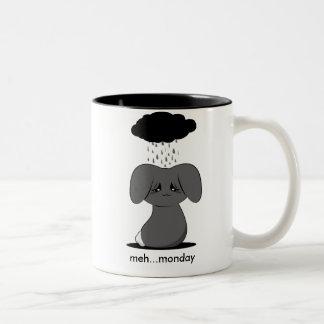 Gloomy Bunny Two-Tone Mug