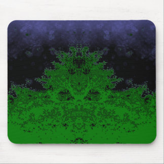 Gloomy forest mousepad