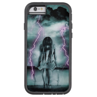 Gloomy Girl In Storm Tough Xtreme iPhone 6 Case