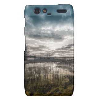 Gloomy lake motorola droid RAZR cover