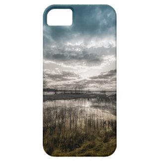 Gloomy lake iPhone 5 case