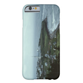 Gloomy seaside village barely there iPhone 6 case