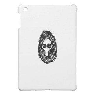 gloomy skull iPad mini cover