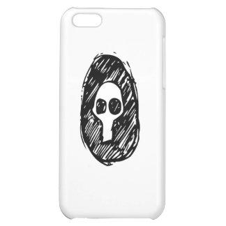 gloomy skull case for iPhone 5C