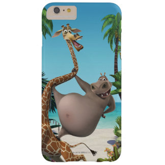 Gloria and Melman Friends Barely There iPhone 6 Plus Case