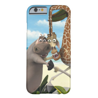 Gloria and Melman Hand Holding Barely There iPhone 6 Case