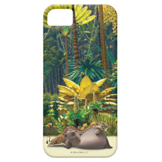 Gloria and Melman Relax iPhone 5 Cases