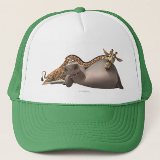 Gloria and Melman Relax Trucker Hat