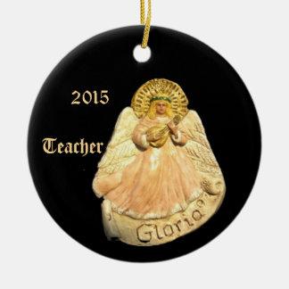 GLORIA ANGEL 2015 TEACHER COLLECTOR ORNAMENT