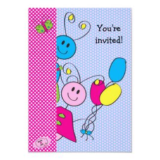 Gloria loves Jack 17 13 Cm X 18 Cm Invitation Card