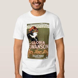 Gloria Swanson Her Love Story 1924 movie poster Tshirts