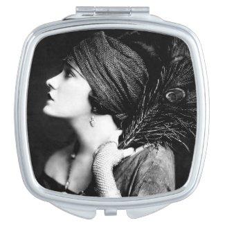 Gloria Swanson Compact Mirror