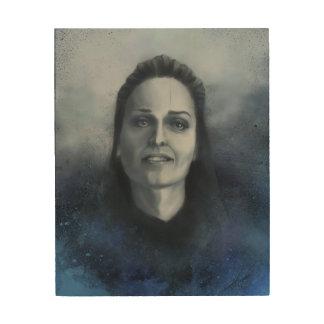 Gloria Votsis/ Portrait Wood Print