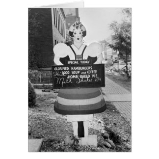 Glorified Hamburgers - 1938 Card