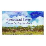 Glorious Abstract Landscape Art Farm Barn House