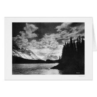 Glorious Alaska Mountains 1920 Greeting Cards