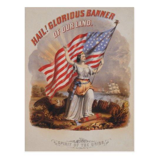 Glorious Banner! - Postcard
