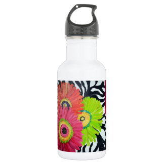 Glorious Gerbers Daisies Bottle 532 Ml Water Bottle