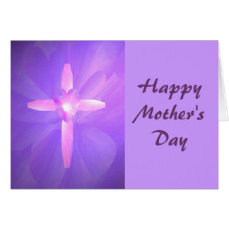 Glorious Morning Glory, Happy Mother's Day Greeting Card